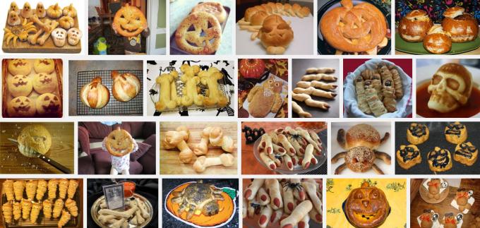 recept halloween brood