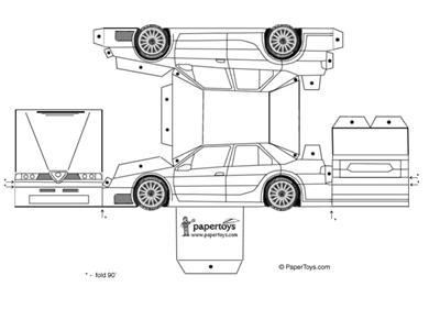bouwplaat auto en sinterklaas surprise