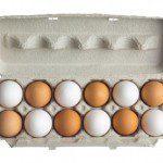 Kweekkasje van eierdoos