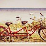 Tandem fietsen kan relatietest zijn