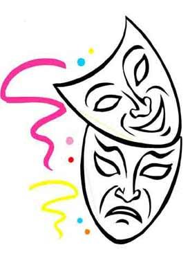 Kleurplaten Maskers Carnaval.Carnaval Kleurplaat Maskers En Meer Hobby Blogo Nl