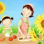 Koken met kinderen en samen opeten
