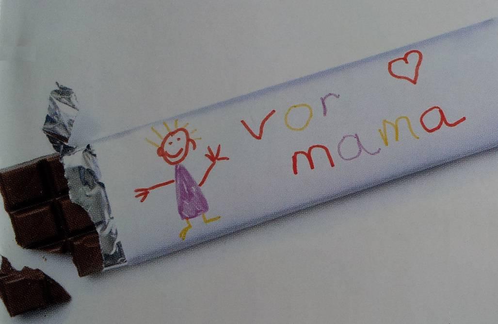 Chocoladereep versieren als persoonlijk cadeautje
