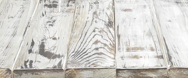 Hoe verweerd effect schilderen op hout - Meubels om zelf te schilderen zelfs ...