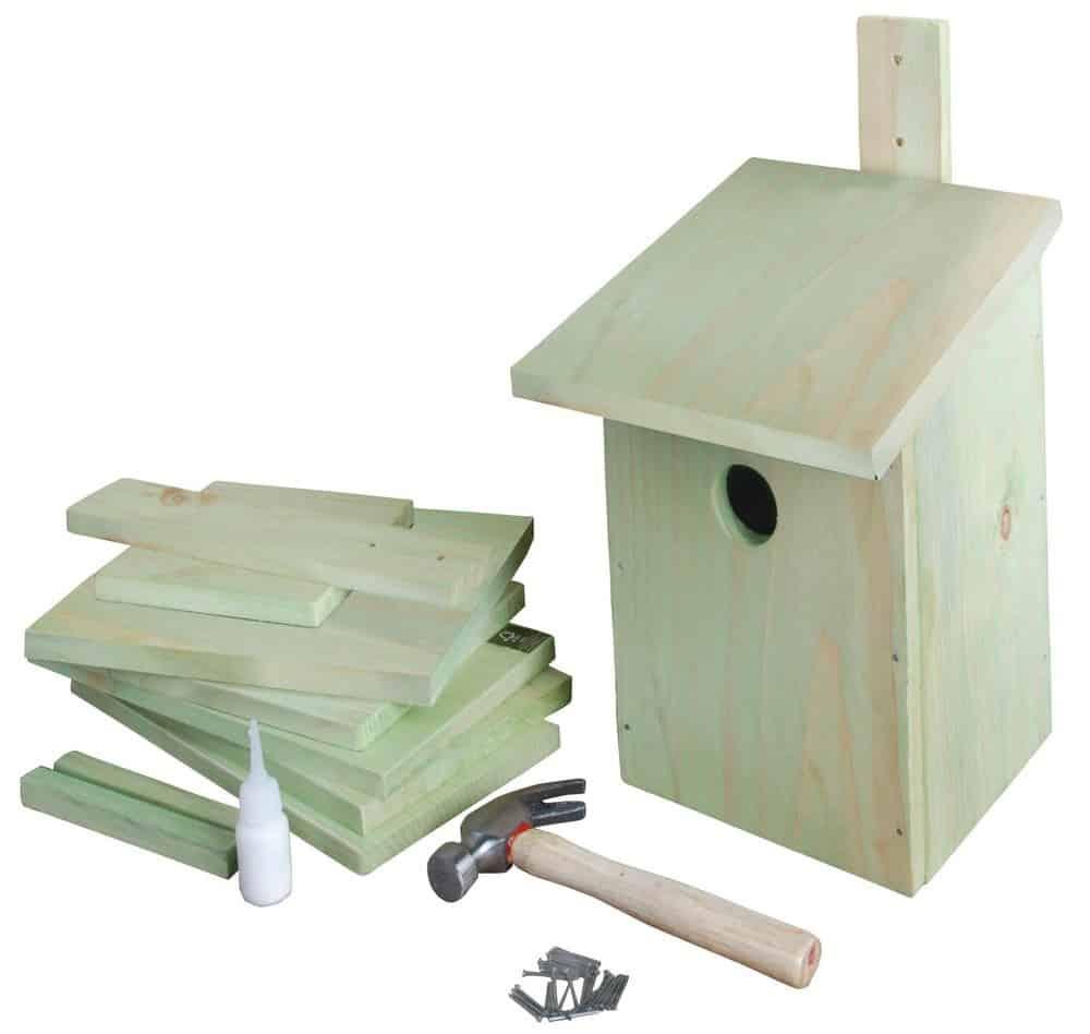 Bron: bouwpakket vogelhuisje tuinierenwebshop.nl