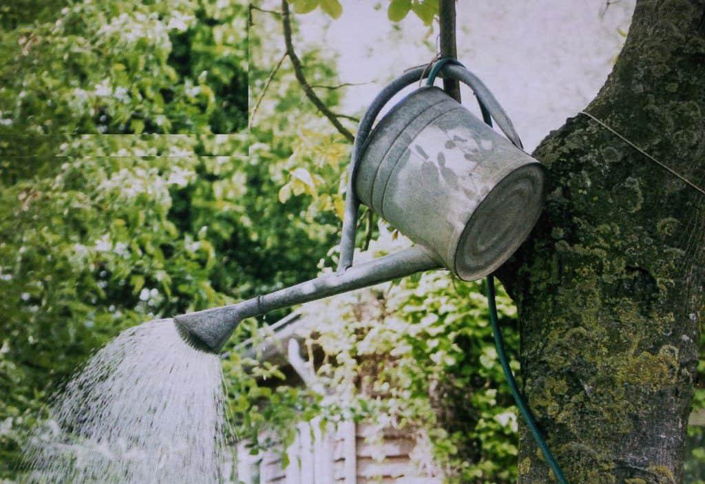 Buitendouche in de tuin snel maken