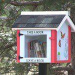 Mini bibliotheek om lezen te  bevorderen