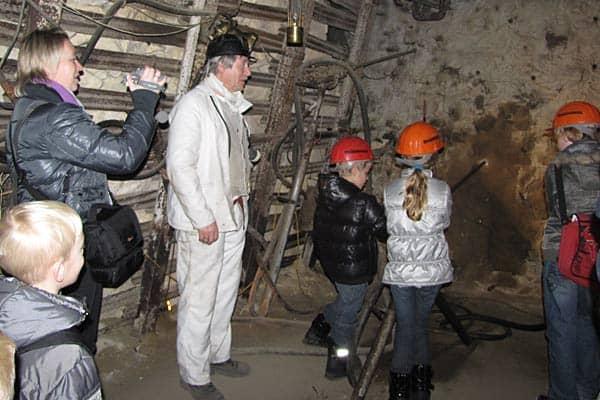 steenkolenmijn bezoeken metde kinderen