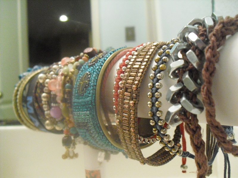 Armband maken met lint en moeren