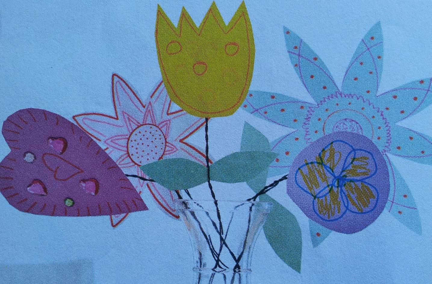 Bloemen knutselen met peuters en kleuters