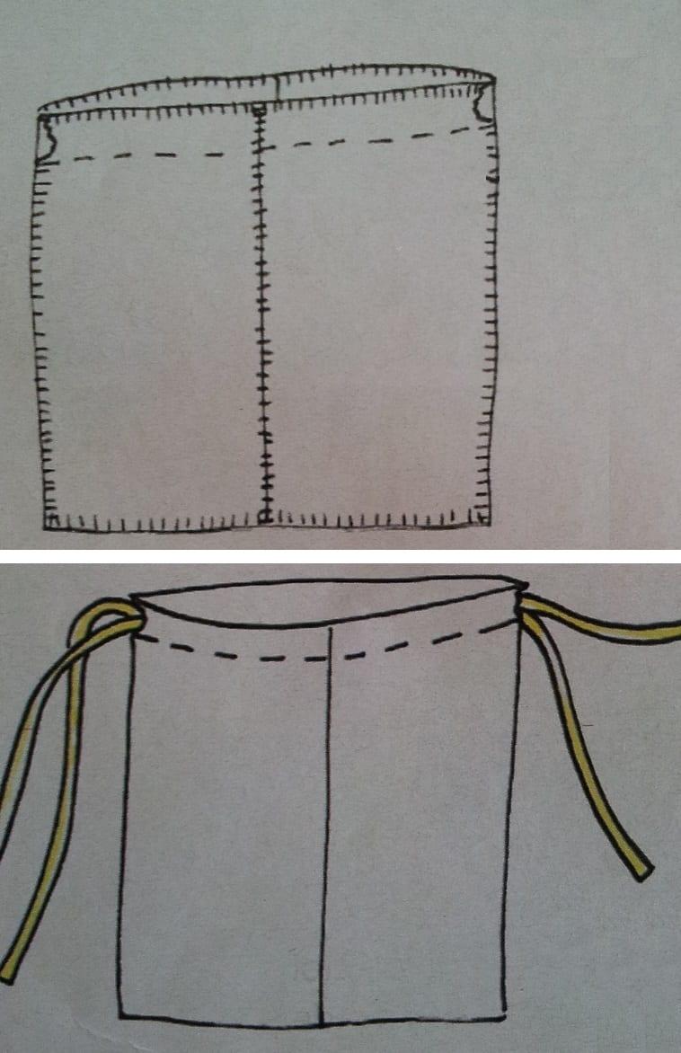 Grote Tas Maken : Grote tas maken van oude deken hobby o