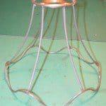 Oud frame lampenkap restylen en nieuwe look geven