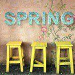 Letters mozaieken voor thuis of tijdens feest
