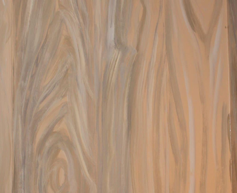 Hoe imitatie hout schilderen en hout imiteren