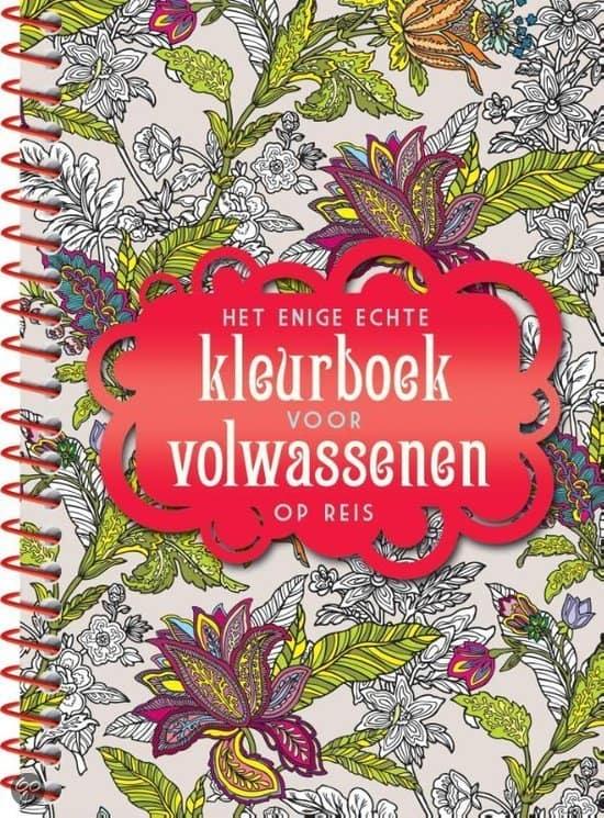 kleurboek volwassenen kleurplaten