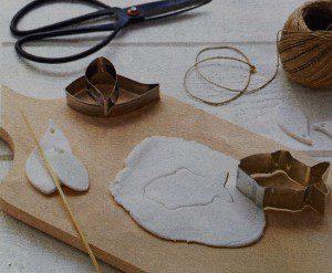 mobile figuurtjes maken met klei