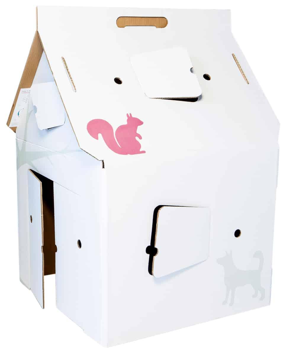 Bouwpakket huis en keuken van karton for Huis maken surprise