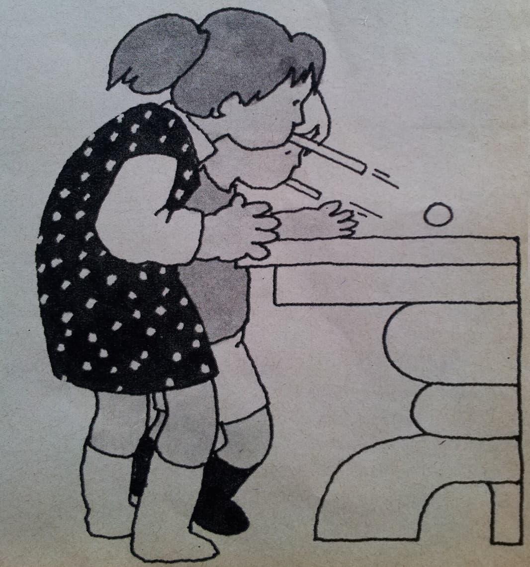 Spelletjes bij een kinderpartijtje thuis