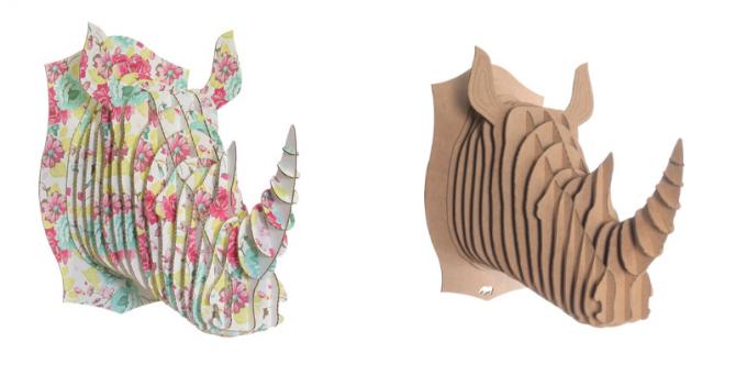 Dierenkop decoratie zelf maken - Hobby.blogo.nl