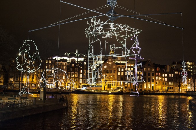 kerstlichtjes rondvaart en amsterdam lichtfestival