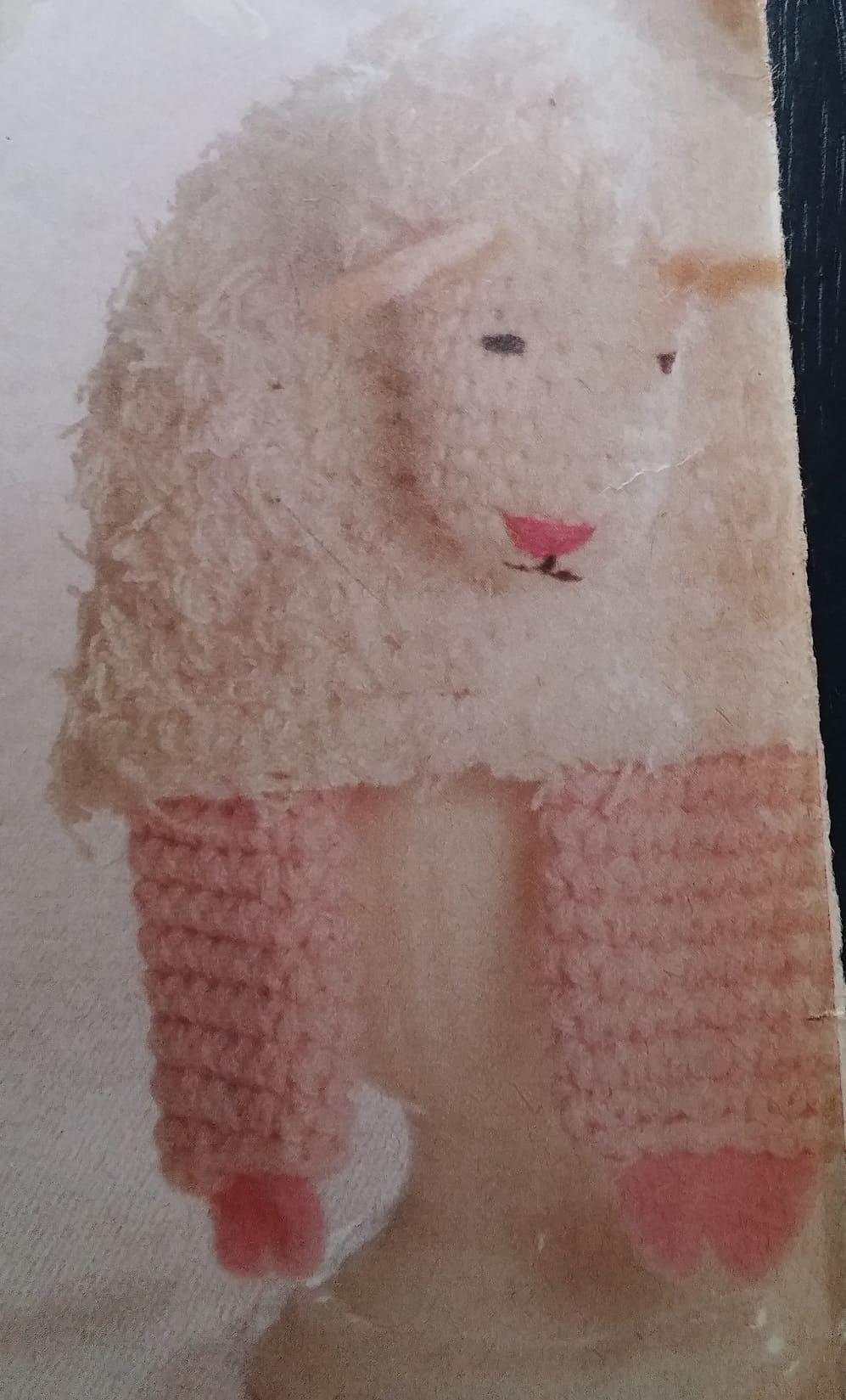 Lammetje Eierwarmer Haken Voor Pasen Hobbyblogonl