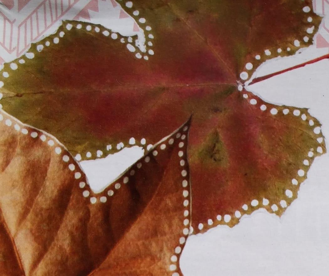 herfstbladeren en knutselen