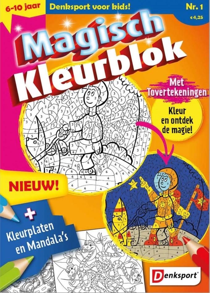 Magisch kleurboek