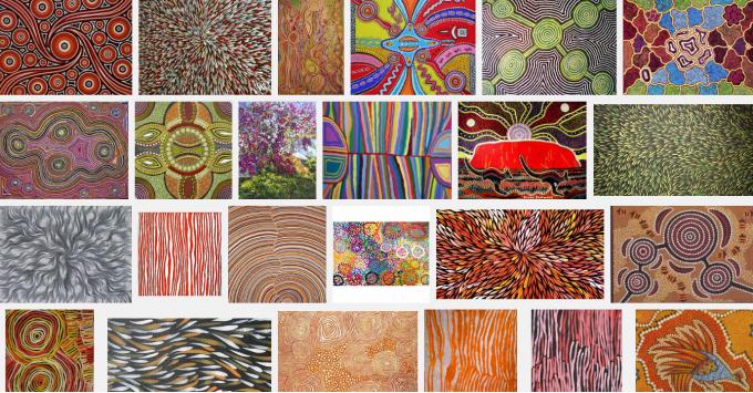hedendaagse kunst aboriginals
