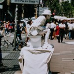 Levende standbeelden WK in Arnhem