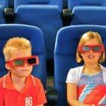 Filmtheater en levensecht vliegen
