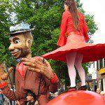 Straattheater festival in Enschede