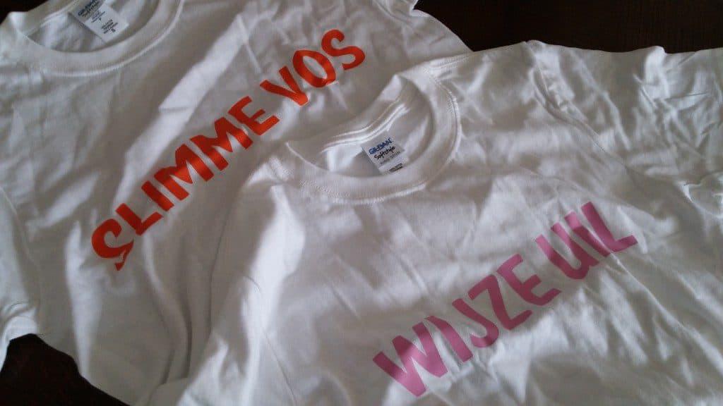 Zelf t-shirts ontwerpen en bedrukken
