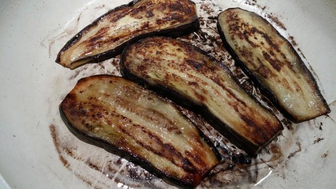 aubergine bakken