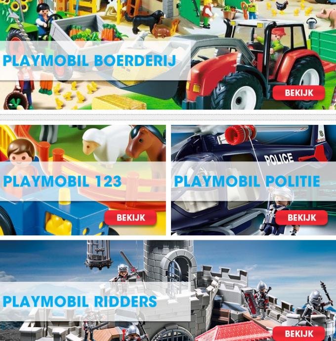 playmobil en lego voor lage prijs
