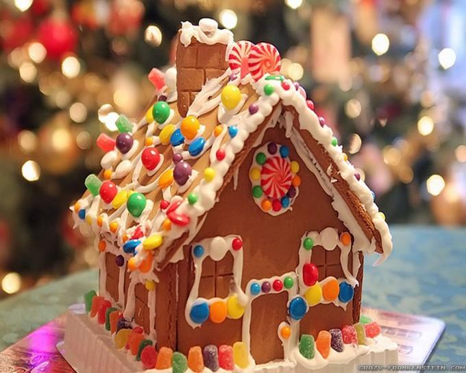 Snoephuisje voor alle feestdagen for Huis maken surprise