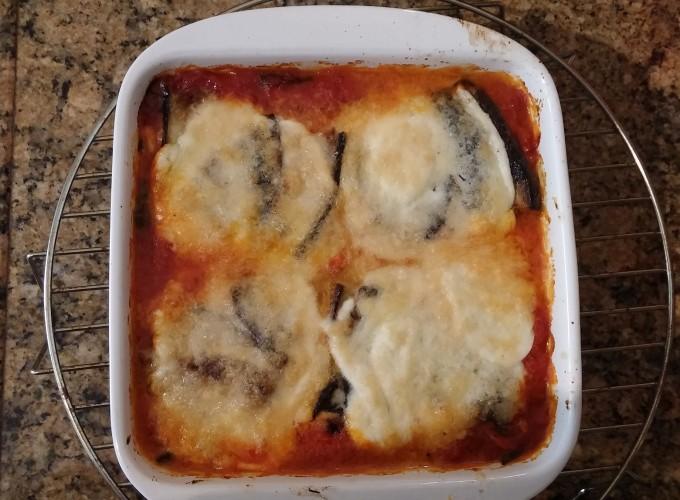 Melanzane alla parmigiana lasagna