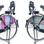 Kindervoet beschermen op de fiets