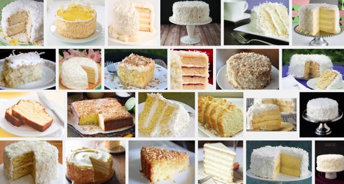 google coconut cake