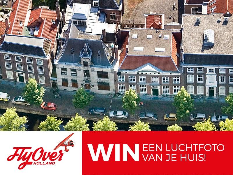 luchtfoto van je eigen huis winnen