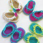 Baby sandaaltjes haken