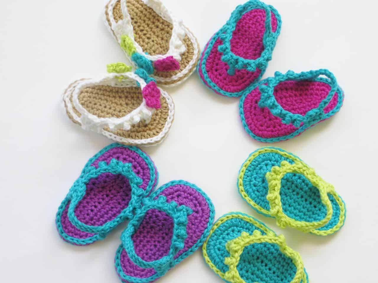 Baby Sandaaltjes Haken Hobbyblogonl