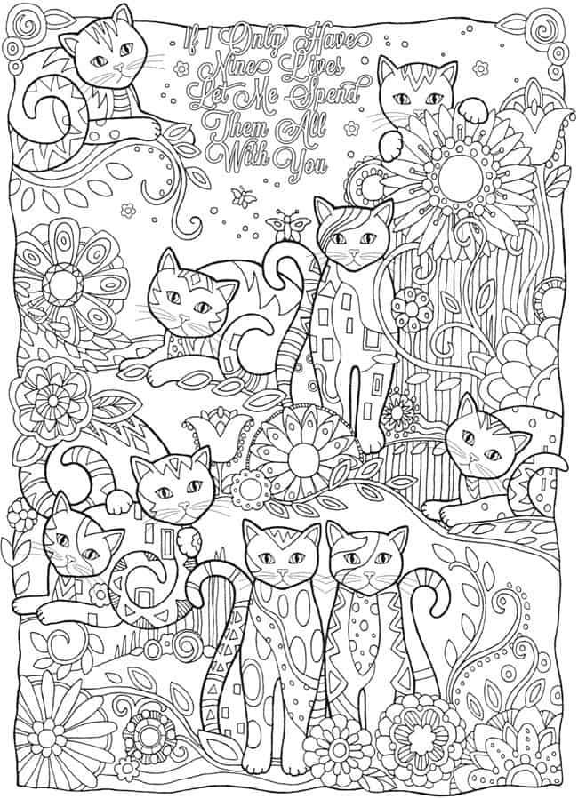Kleurplaat Volwassenen Bron Doverpublications