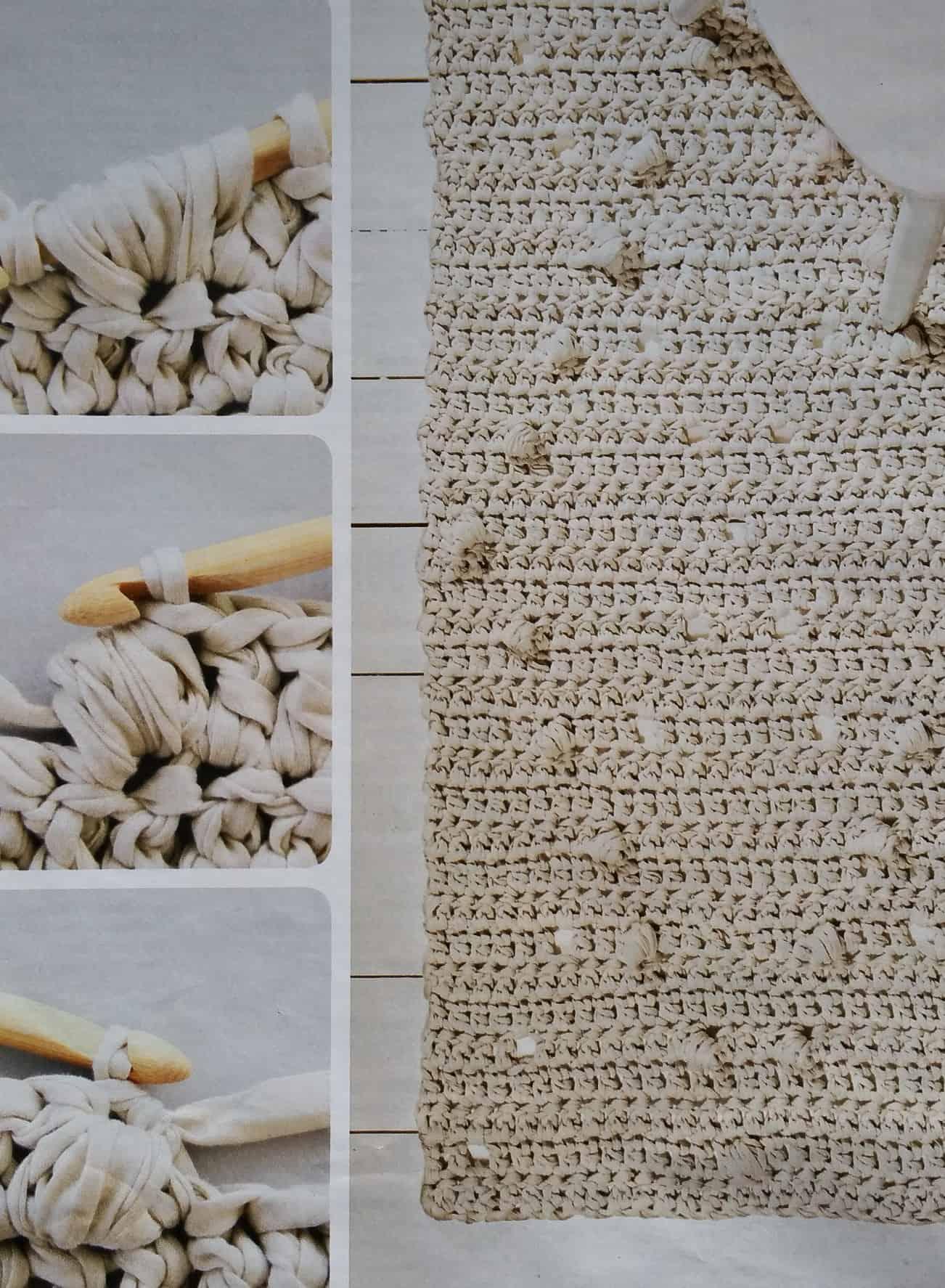 Vloerkleed Haken Met Textielgaren Hobbyblogonl