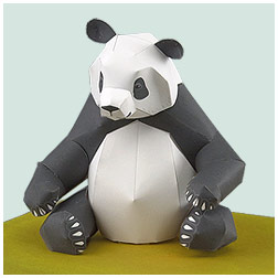 bouwplaten dieren panda