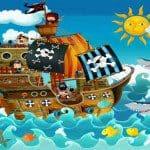 Piratenfeest organiseren 5-10 jaar
