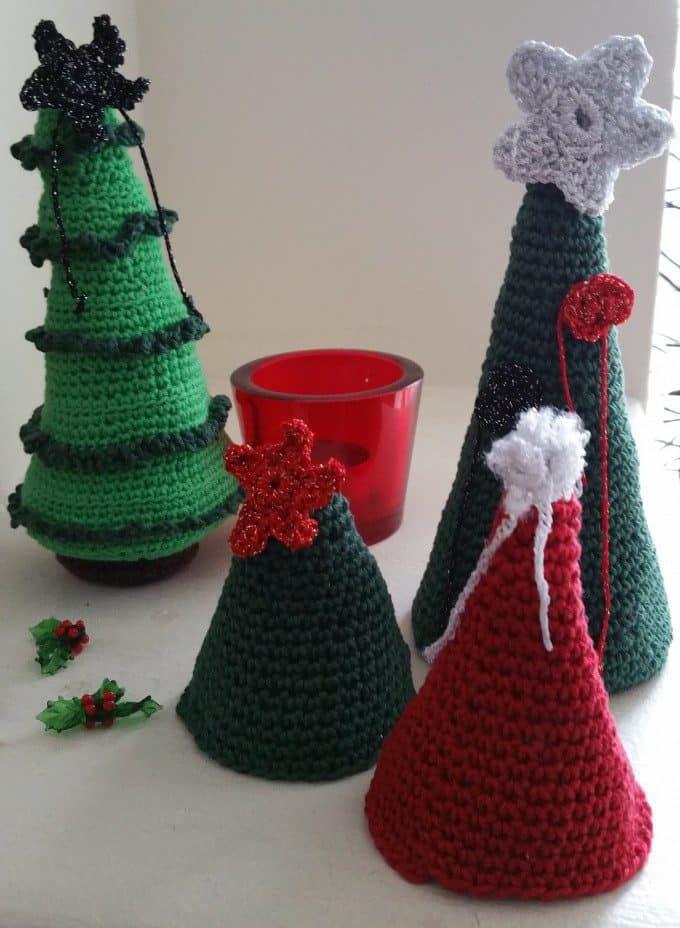 haakpatronen kleine kerstboom