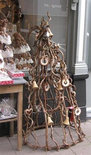 kerstboom zonder naalden