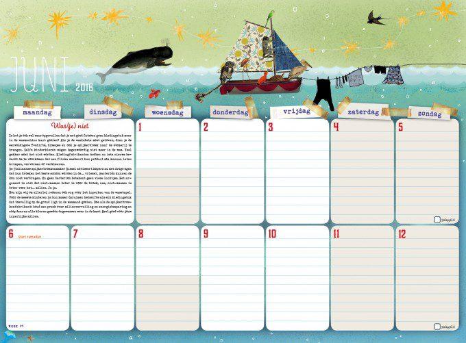 handige jaarplanner voor gezin