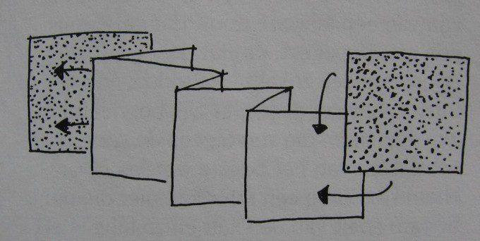 harmonicaboek maken / patroon