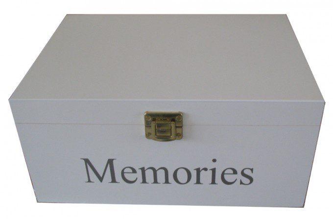 Wijnkist met herinneringen
